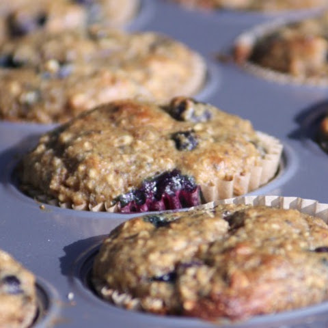 Allergen Free Blueberry Muffins