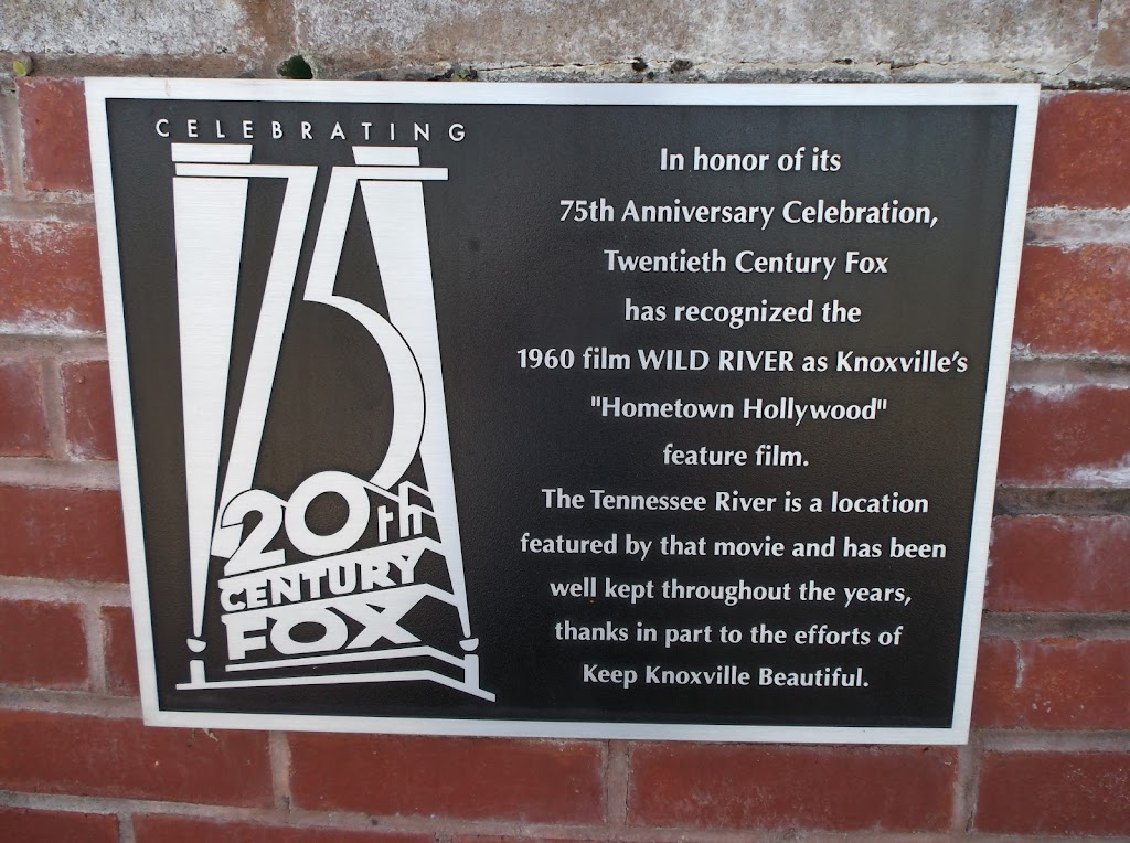 Celebrating 75 20th Century Fox   In honor of its 75th Anniversary Celebration, Twentieth Century Fox has recognized the 1960 film Wild River as Knoxville's
