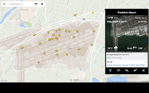 App Flightradar24 Free version 2015 APK