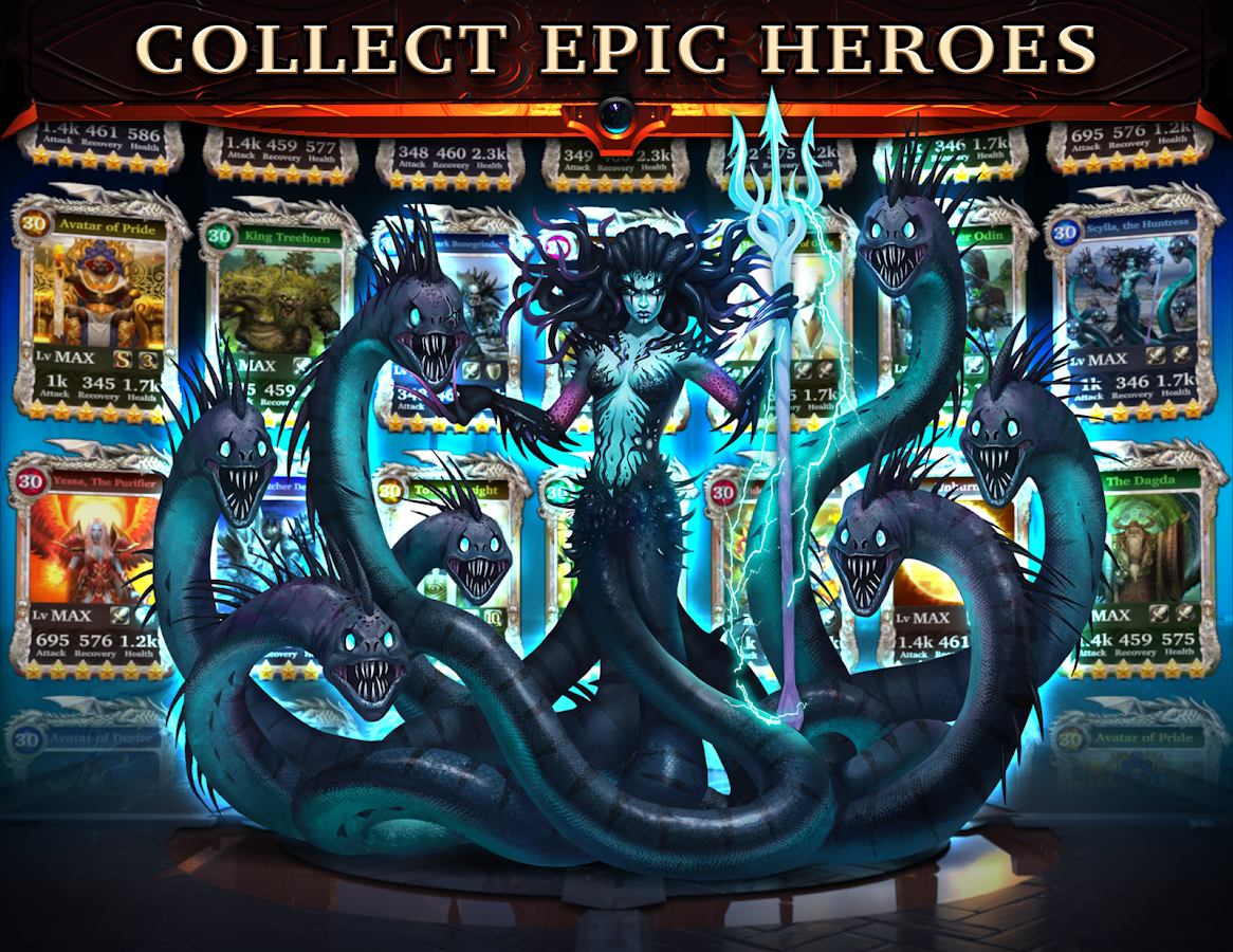 Legendary: Game of Heroes Screenshot 1