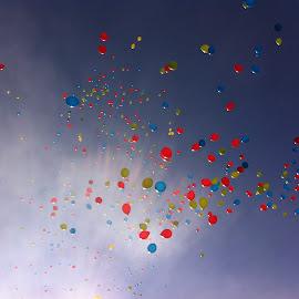 Balloons  by Ivana Licul - Uncategorized All Uncategorized