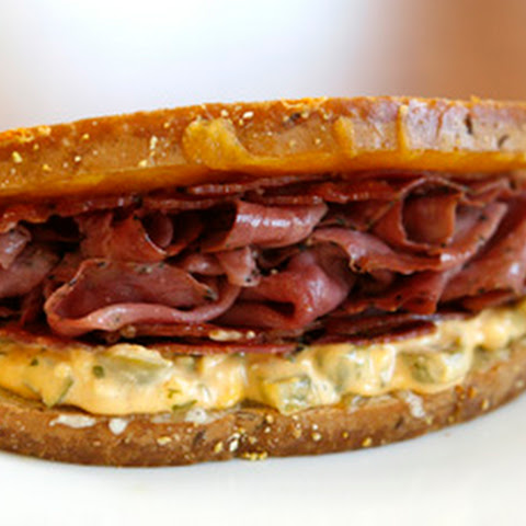 The Peppy Pastrami Bacon Melt