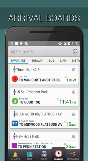 MyTransit NYC: Subway,Bus,Rail - screenshot