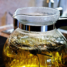 Boiling tea by Alka Smile - Artistic Objects Glass