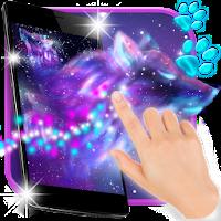 Night Sky Spirit Wolf Live Wallpaper on PC / Download (Windows 10,7,XP/Mac)