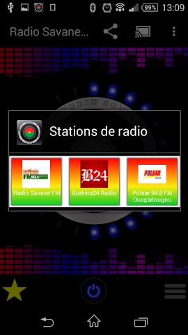 android Burkina Faso Radio Stations Screenshot 4