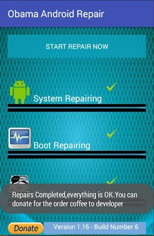 android Obama Android Repair Screenshot 3