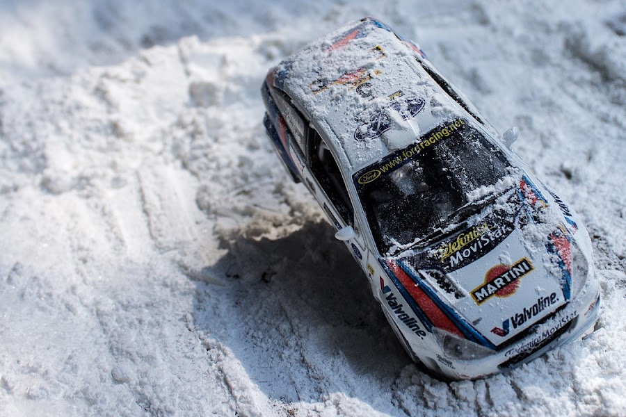 Tribute To Colin McRae by Kèn Nugraha - Artistic Objects Toys ( rally, wrc, ford focus, colin mcrae, scale model )