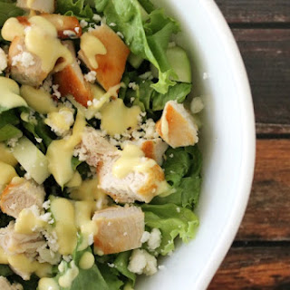 Apple Chicken and Feta Salad