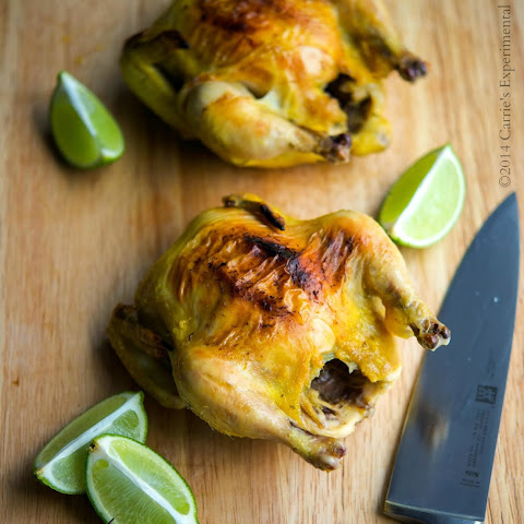 Tarragon & Lime Cornish Hens