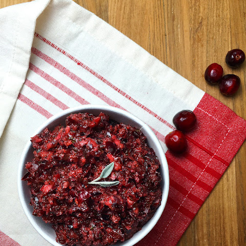 Mealmade's Spicy Cranberry Salsa