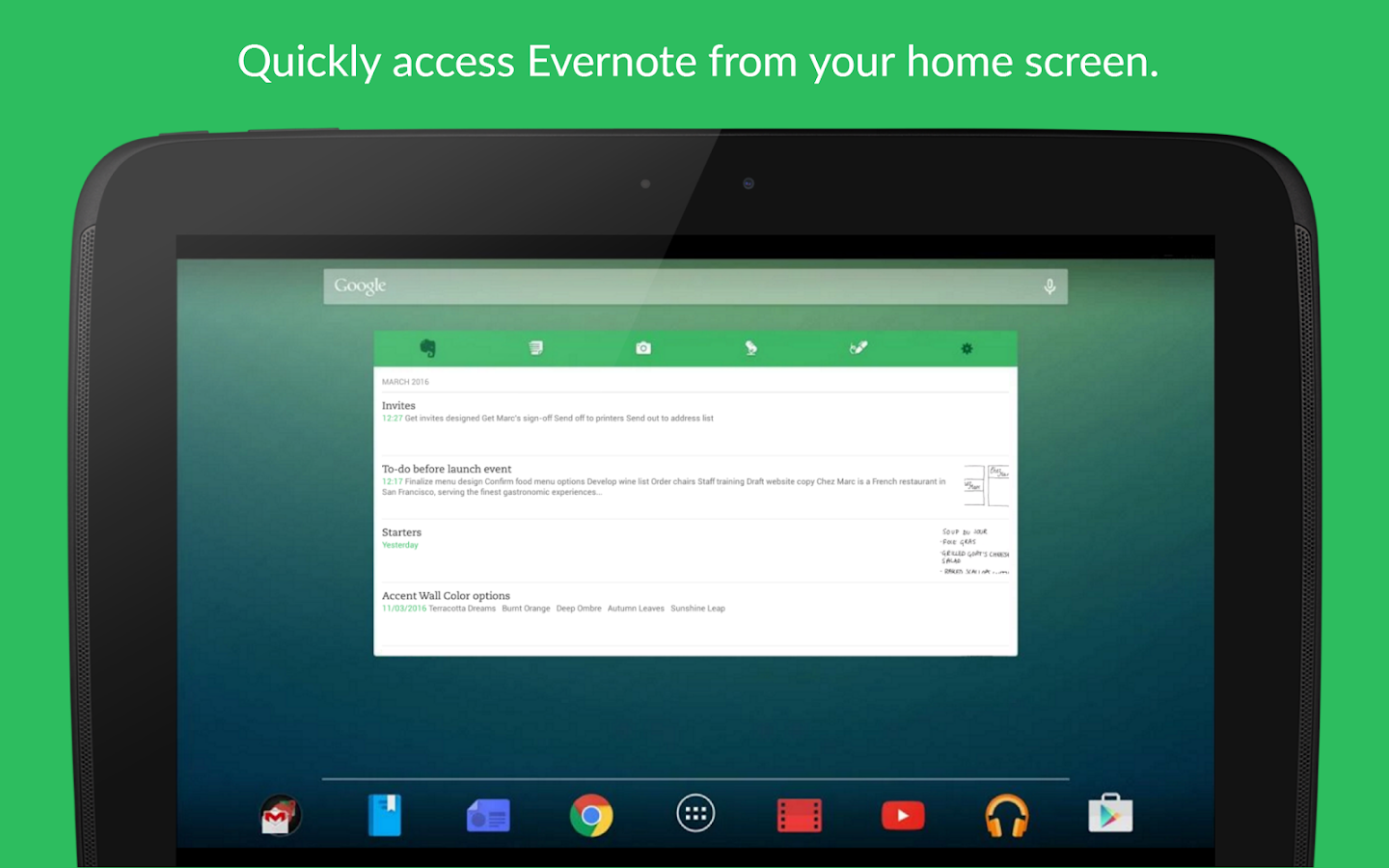 Evernote - stay organized. Screenshot 15