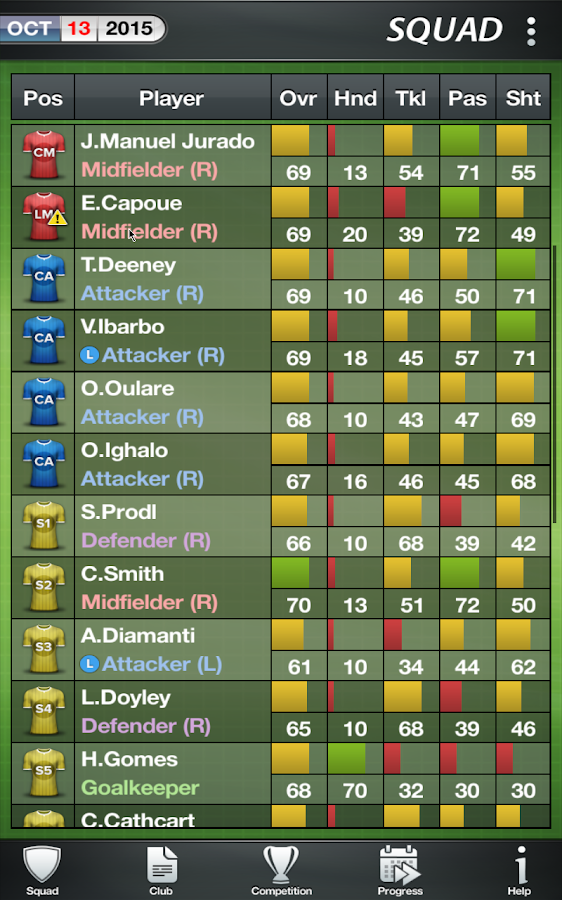 Football Director 17 - Soccer Screenshot 16
