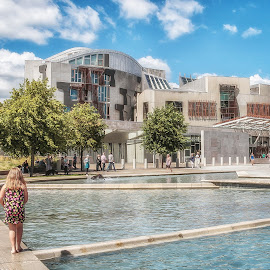 Scottish Parliament by Angela Higgins - Buildings & Architecture Public & Historical