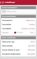 Screenshot of DSB