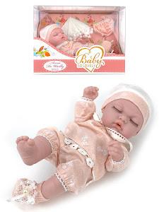 """Пупс серии """"Anna de Wailly"""" original L, со вторым комплектом одежды, розовый"""