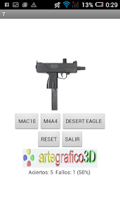 Test de armas - screenshot