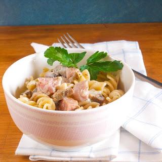 Pasta With Ham And Mushrooms Recipes