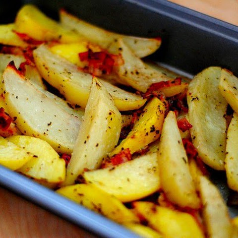 Spicy Potatoes With Bacon
