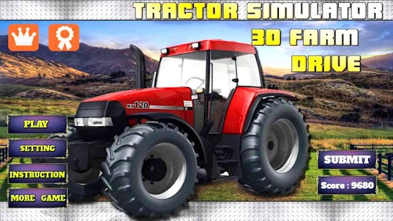 Tractor With Windows : Game tractor harvester simulator apk for windows phone