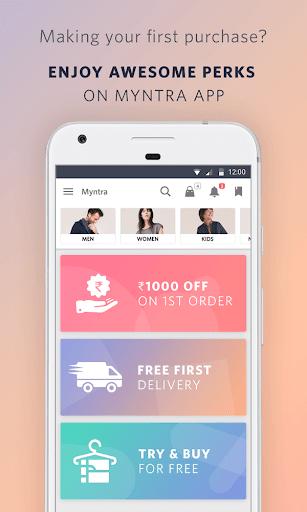 Myntra Online Shopping App screenshot 2