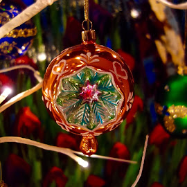 The Color of Christmas by Michael Villecco - Artistic Objects Other Objects ( colorful, ornament, christmas, holidays, christmas tree )