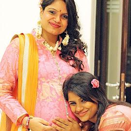 Baby Bump- Sisters by Prady Das - People Maternity ( maternity, sisters, pregnancy, pregnant, bump, baby,  )