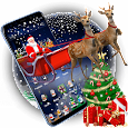3D Merry Christmas Santa Theme