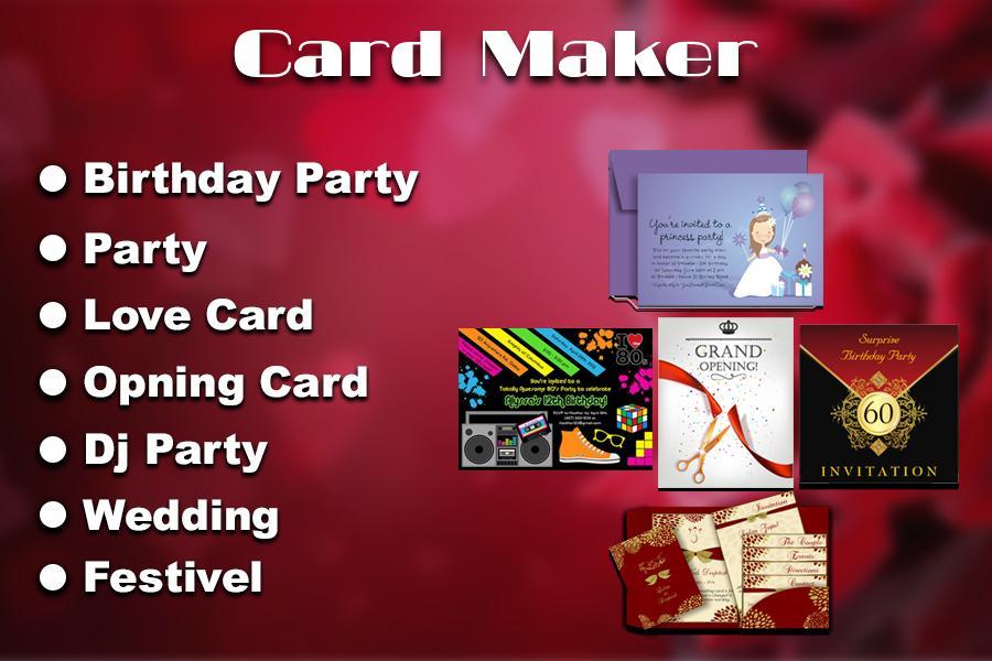 Invitation maker apk 10 download free photography apk download invitation maker apk stopboris Choice Image