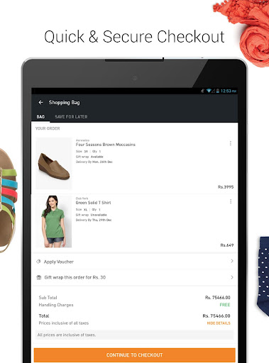 JABONG ONLINE SHOPPING APP screenshot 12