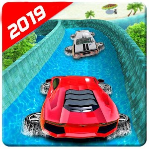 Water Surfing Floating Car Racing Game 2019 For PC / Windows 7/8/10 / Mac – Free Download