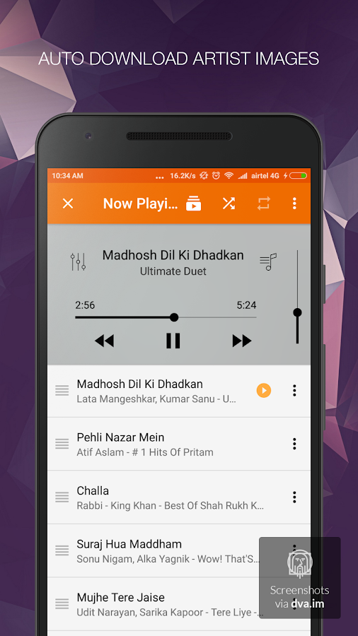 Music Player - mPlay Pro Screenshot 3