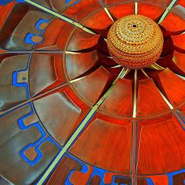 Auroville model by Pradeep Kumar - Artistic Objects Signs