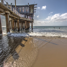 Moya Pier by Brian McDonald - Buildings & Architecture Bridges & Suspended Structures ( pier, ocean, beach )