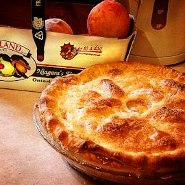 my peach pie by Lennie Locken - Food & Drink Cooking & Baking (  )