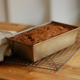 Brown Sugar Oat Flour Banana Walnut Bread
