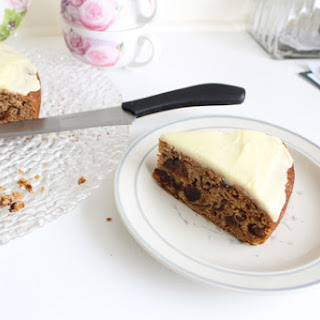 Moist Prune Cake with Lemon Frosting