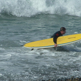 California Winter Surfing by Don Mann - Sports & Fitness Surfing
