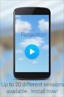 Screenshot of 5 Min Relaxation & Meditation