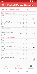 Football NFL Live Streaming