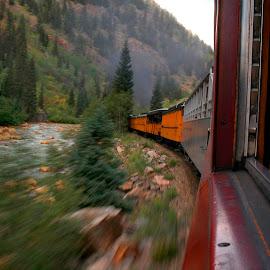 D&SNGRR 150 by Ron Knight - Transportation Trains ( colorado, train, motion, silverton )
