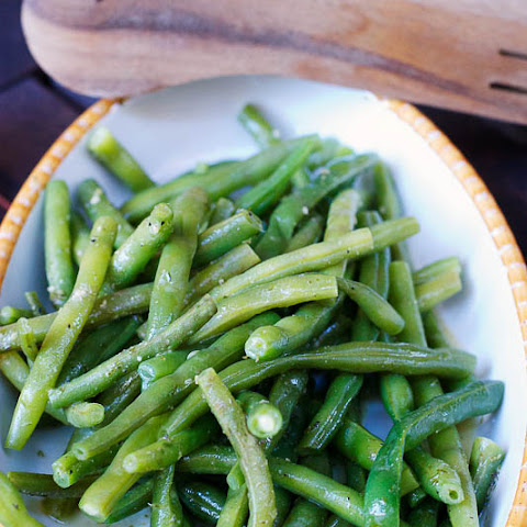 Green Beans with Lemon Juice & Dill