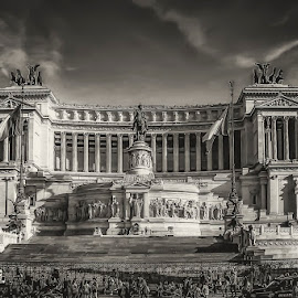 Rome by Angela Higgins - Black & White Buildings & Architecture ( rome, architecture, italy )