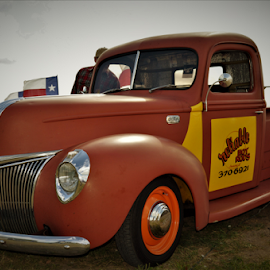 by Benito Flores Jr - Transportation Automobiles ( austin, truck, texas, car show, lone star round up )