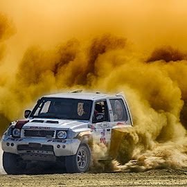 Evo by Abdul Rehman - Sports & Fitness Motorsports ( canon, pakistan, jhal magsi, thrill, adventure, mitsubishi, desert, dust, danger game, dangerous, baluchistan, dusty )
