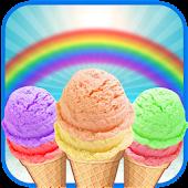 Game DIY Rainbow Ice Cream Maker APK for Windows Phone