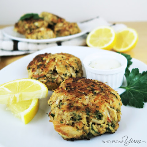 Easy Crab Cakes (Paleo, Low Carb)