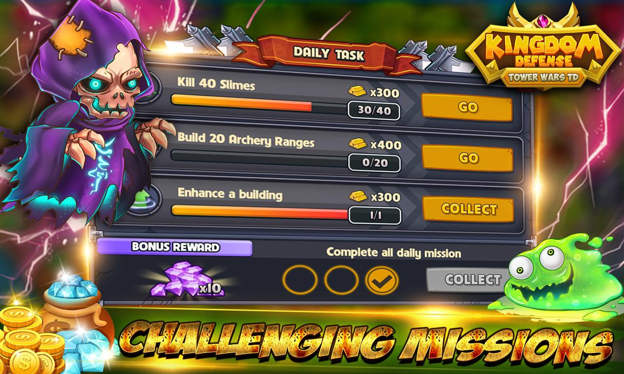 Königreich Verteidigung: Tower Wars TD android spiele download