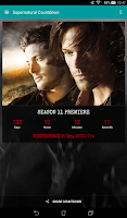 Screenshot of Supernatural Countdown