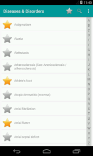 Diseases & Disorders screenshot for Android